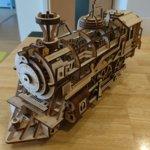 3D木製パズル LOCOMOTIVE LK701の画像